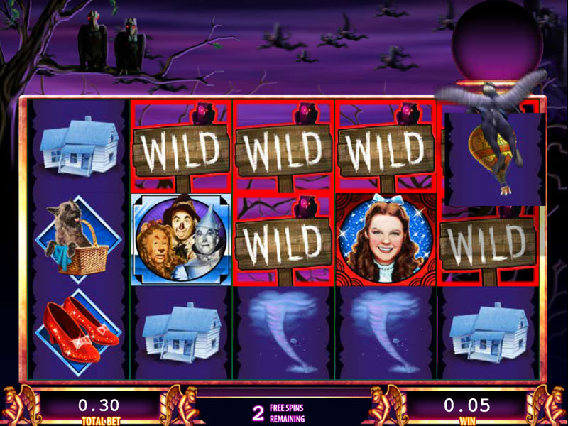 the wizard of oz casino slot game