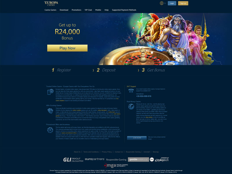 Online Europa Casino
