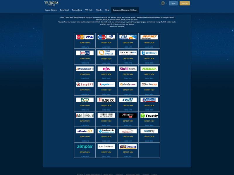 Europa Online Casino