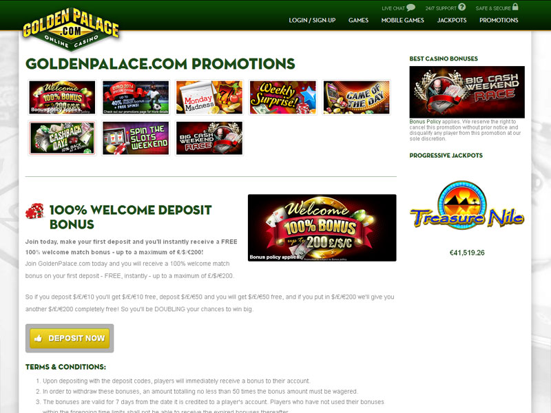 Golden Palace Online