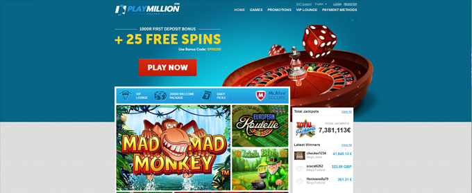 Playmillion Bonus