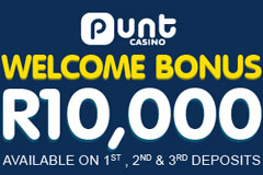 Punt Casino Welcome Offer