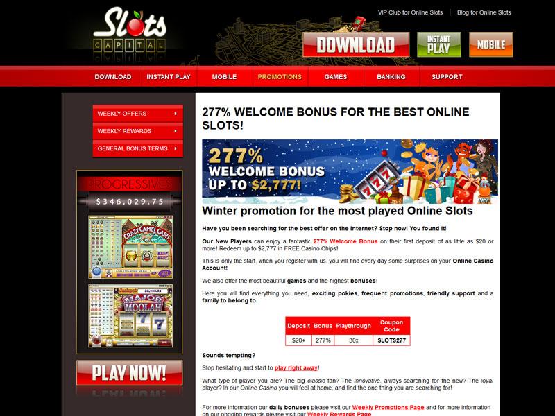 online casino slots games