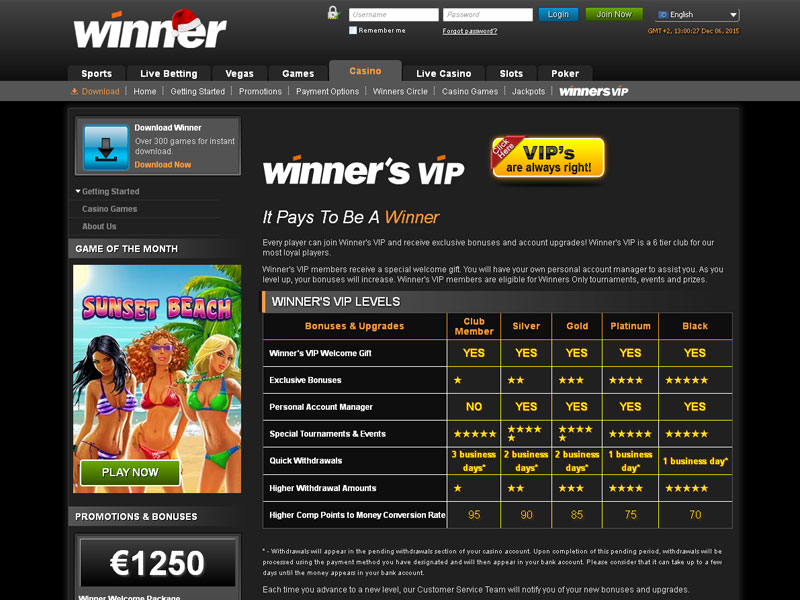 winners casino