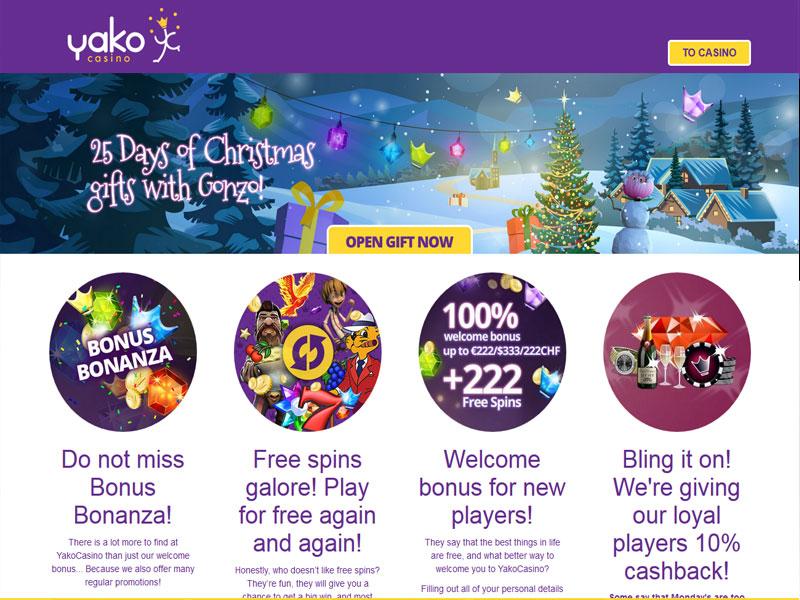 Yako casino 10 free spins